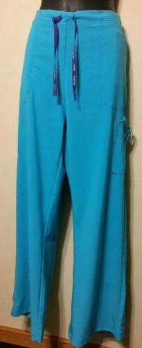 Carhartt Women's Scrubs Pant Medical Uniform Sz XL Reg Blue