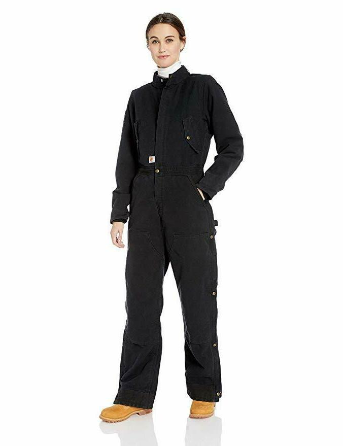 women s size wildwood coverall black small