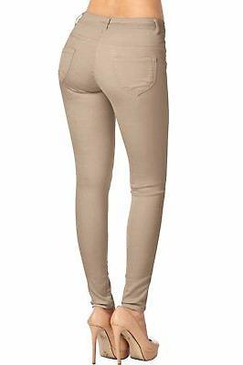 2LUV Pocket Skinny Color Pants