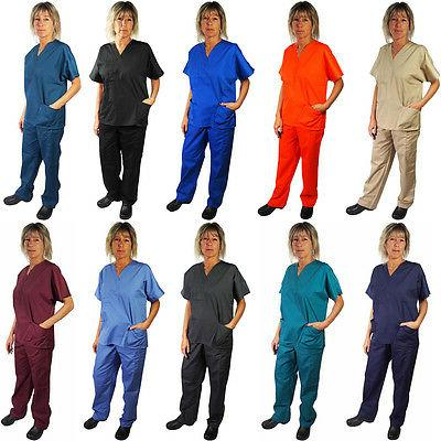 Natural Workwear Womens Authentic EDS Unisex Medical Uniform