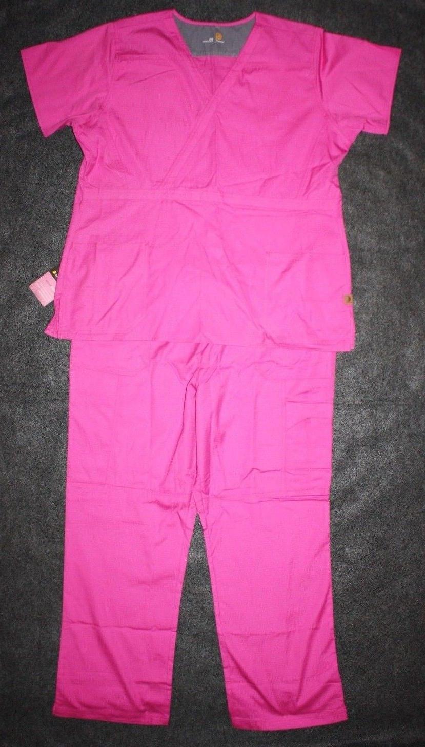 womens medical scrubs set ripstop 2 piece