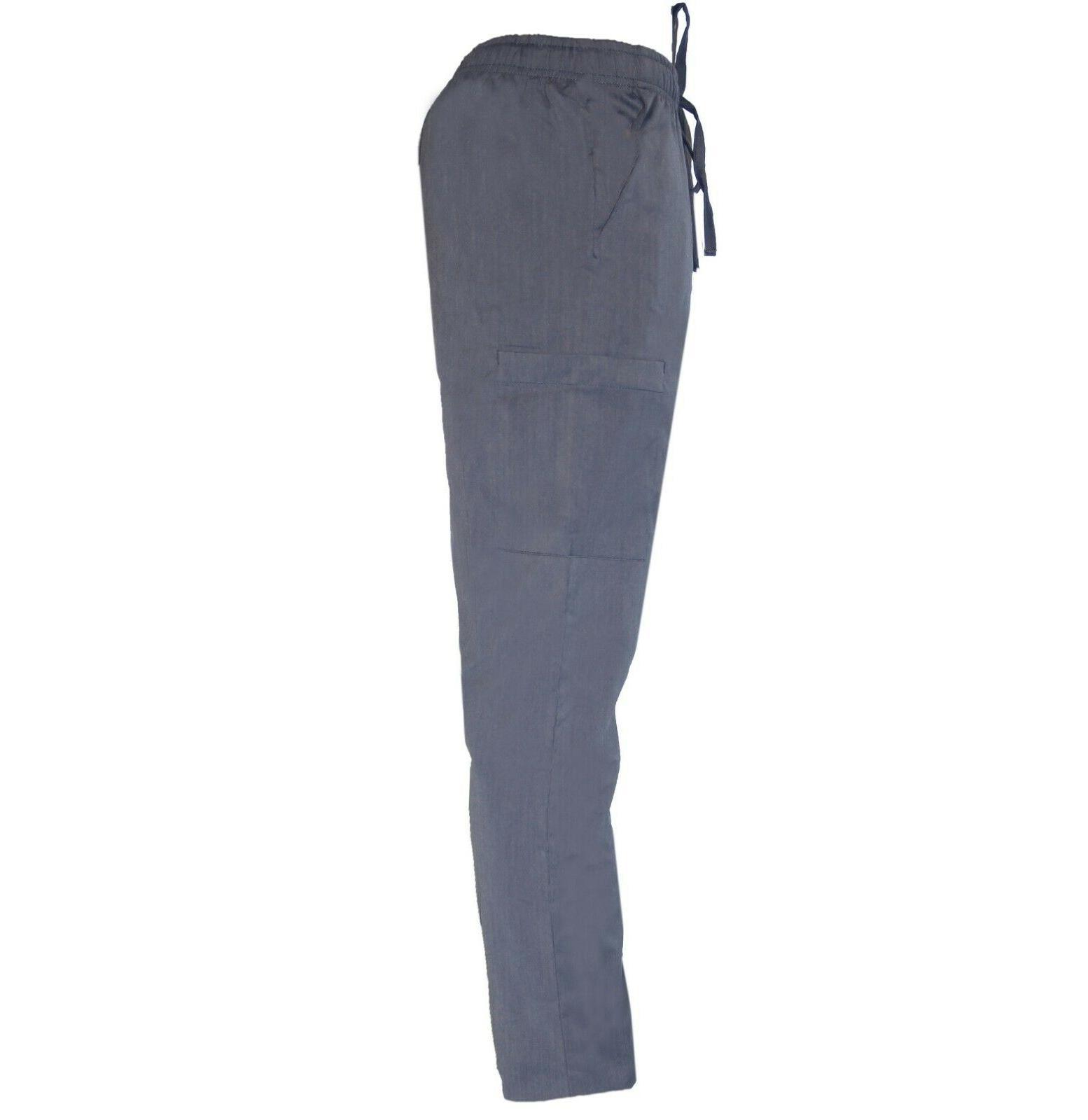 Womens STRETCH Nursing Uniform Scrub Top Pant S M L XL