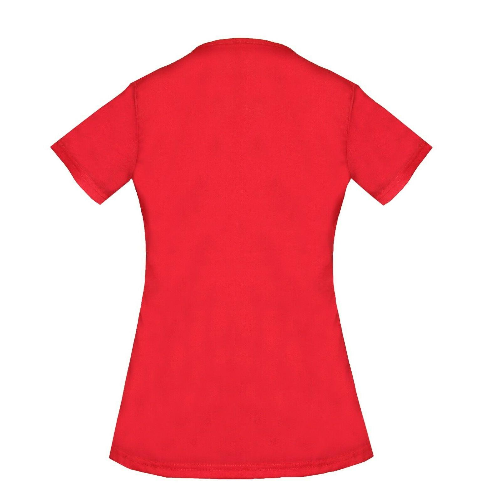 Womens Nursing Uniform Top M L