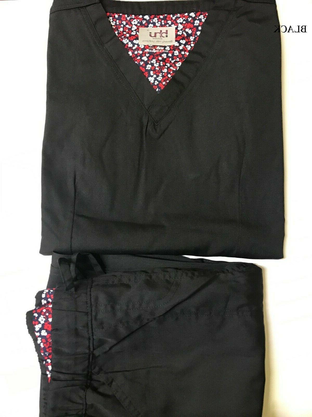 Womens Stylish Hospital Nursing Scrub Set Pants