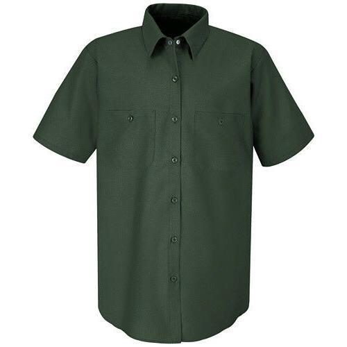 Red Kap Solid Men's Uniform Short Sleeve