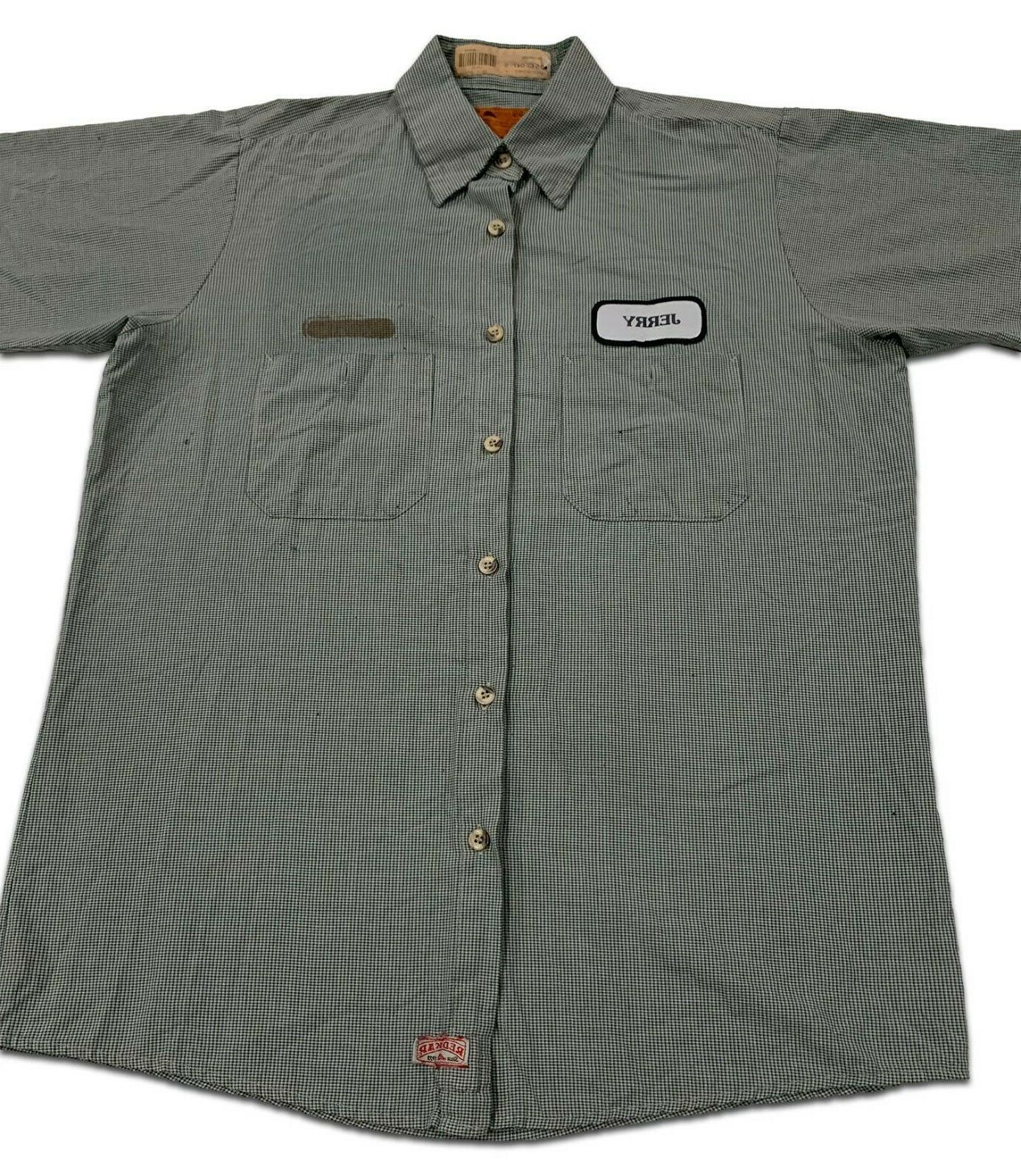 Red Kap Work 2 Microcheck Short & Uniform #B
