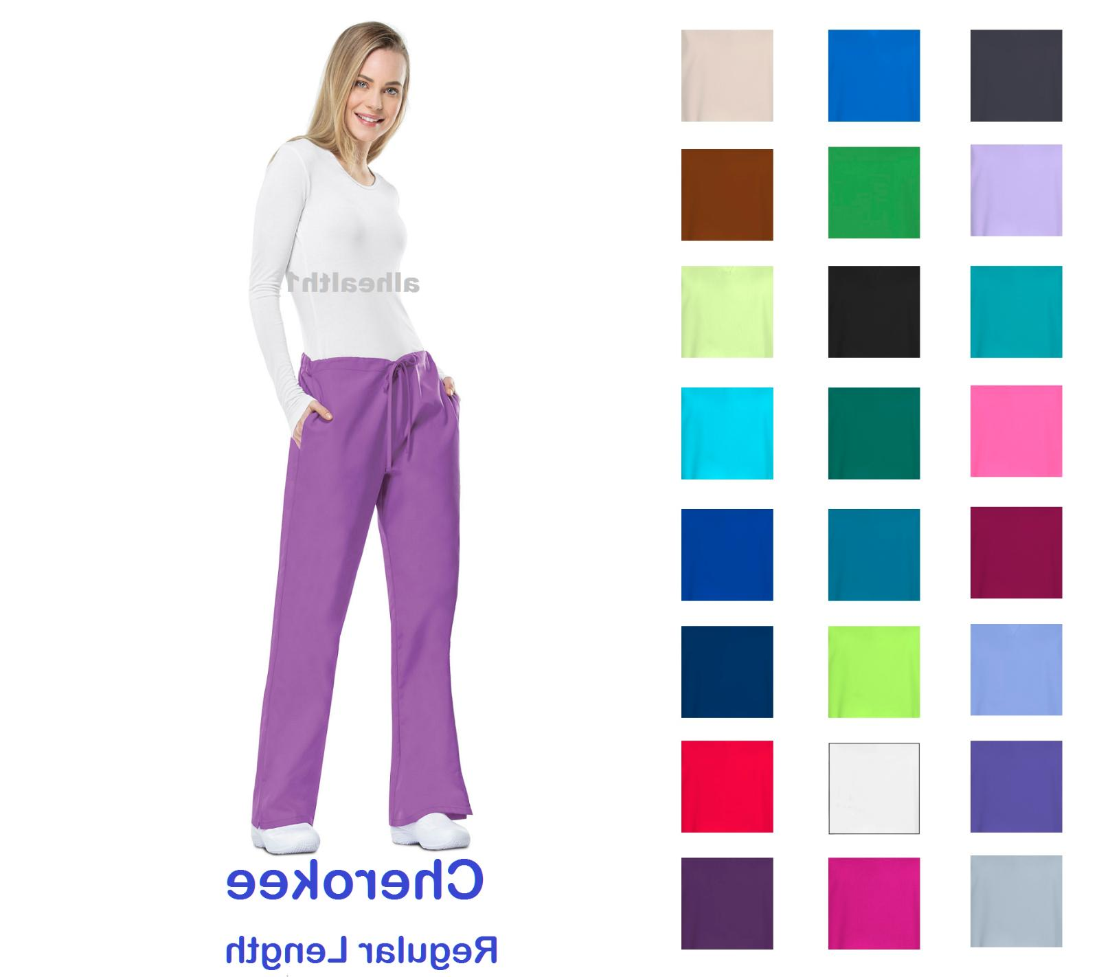 workwear regular womens nurse scrub pants style