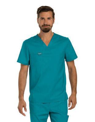 WorkWear Revolution WW690 Men's V-Neck Top Medical Uniforms