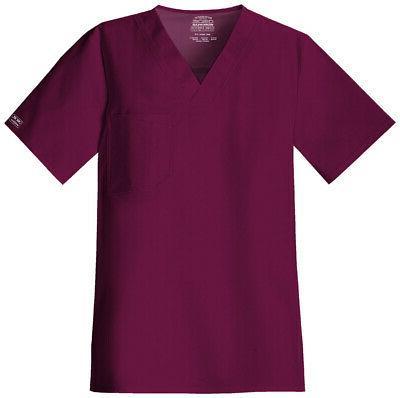 Workwear Stretch 4743 Men's V-Neck Top Medical Uniforms Scru