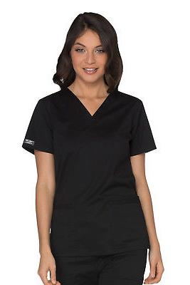 Workwear Stretch WW630 Women's V-Neck Top Medical Uniforms S