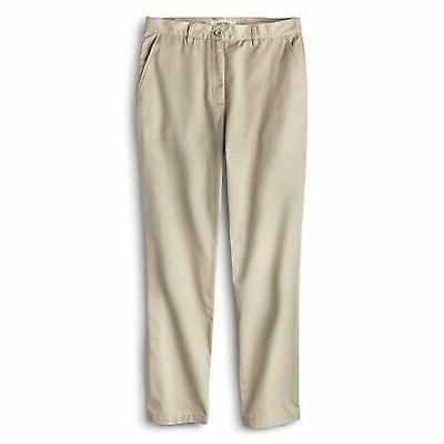 Cherokee Young Mens' School Uniform Flat Front Pants Vintage