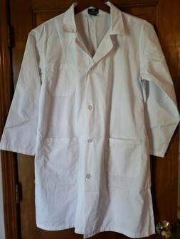Natural Uniforms Lab Coat White Pockets White Laboratory Med