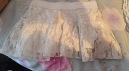 Laced Skirt For Little Girls