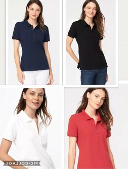 Ladies Calvin Klein Polo TShirt, Work Uniform, Golf Top, Cot