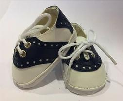 LB Navy Blue Saddle Oxfords for 18 inch Doll Shoes Clothes A