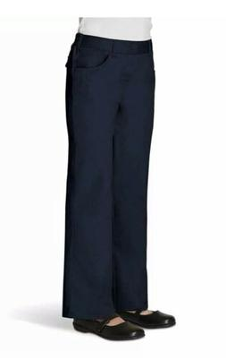 French Toast Little Girls' Pull-On Pant, Navy, 6X