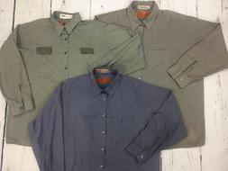 Long Sleeve Shirts Men's Work Uniform 12PACK- Free Shipping