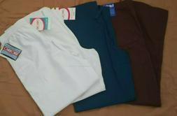 Lot of 4 Cherokee And Landau Uniform Nursing Scrub Pants Med