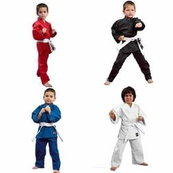 Martial Arts Karate Uniform / Gi Lightweight Student - WHITE