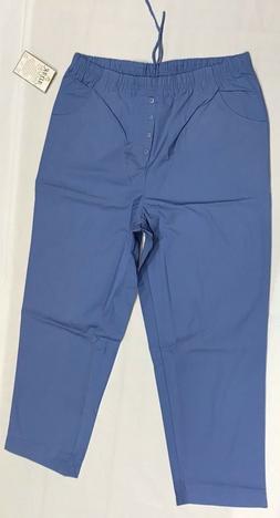 Adar Medical Uniforms Dr/Nurses Scrub Pants Sz 2XL Ceil Blue