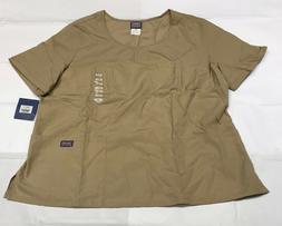 Cherokee Medical Uniforms Fitted Stylish Scrub Size 5XL Khak