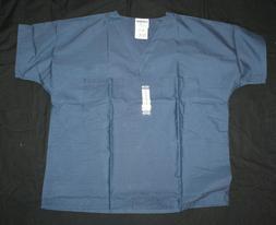 medical uniforms originals scrubs top navy nwt