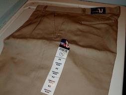 Men/Boy Uniform Pants Khaki  French Toast Cotton Blend Schoo