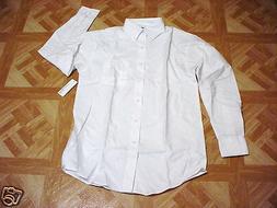 George Men's & Boys White School Uniform to Oxford LS Dress