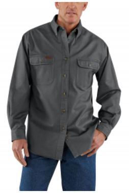 Carhartt Men's Oakman Work Shirt Sdtn Twill - Choose Color/S