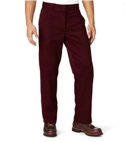 Dickies Men's Original 874 Classic Fit Uniform Maroon Work P