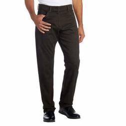 Calvin Klein Men's Slim-Fit Stretch Herringbone-Print Pants