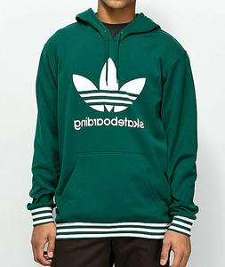 Men's adidas Clima 3.0 Uniform Green Hoodie, XL, Green