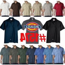 mens short sleeve work uniform button up