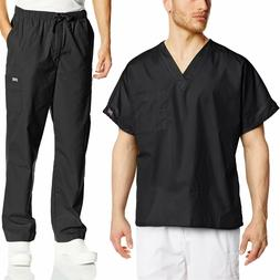 Cherokee Mens Workwear Scrub Set Medical/Dentist Uniform V-n
