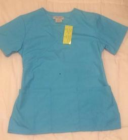 Natural Uniforms, MM001 Mock Flare Set Water Blue Size: XS