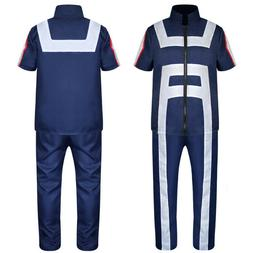 My Hero Academia Boku no Hero Cosplay Costume Men Women Scho