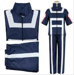 My Hero Academia College Gym Uniforms Halloween COSPLAY Cost