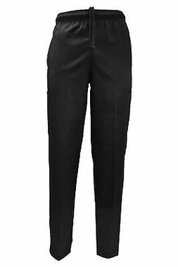 NATURAL UNIFORMS CLASSIC CHEF PANTS IN BLACK, CHECKERED AND