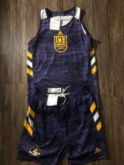 Adidas NCAA East Carolina ECU Pirates Basketball Sample Jers