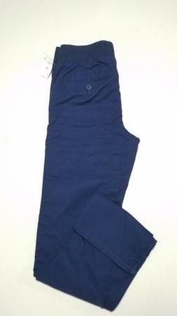 6032ce87c7 New Gap Kids Boys Pull-on Chinos School Uniform pants Navy E