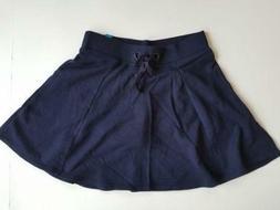 NEW Justice Girl's School Uniform Knit Skirt Size 14 Midnigh