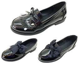 new girls black school shoes kids formal