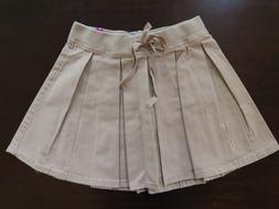 NEW Justice Girls School Uniform Pleated Skirt/Skort Sizes 1