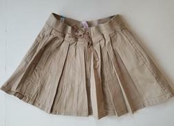 NEW Justice Girls School Uniform Pleated Skirts Sizes 10P, 1