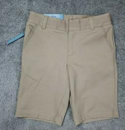 NEW NAUTICA GIRLS SCHOOL UNIFORM SIZE 8 REGULAR KHAKI SKINNY