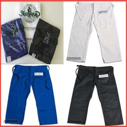 New Proforce Gladiator Jiu Jitsu Judo Uniform Gi Pants Grapp