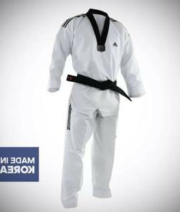 New Adidas Grand Master II TAEKWONDO UNIFORM WITH 3 Stripes
