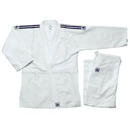 NEW adidas Judo Uniform WHITE adidas Single Weave Judo Gi