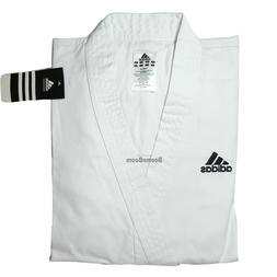 New adidas Karate Student Uniform Set Gi Beginner's Jacket&P