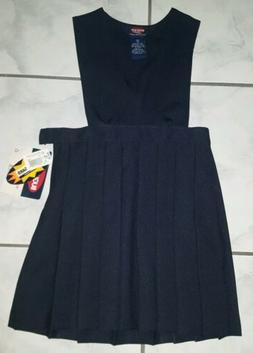 New Bugle Boy Kids Navy Blue Dress/Jumper School Uniform Gir